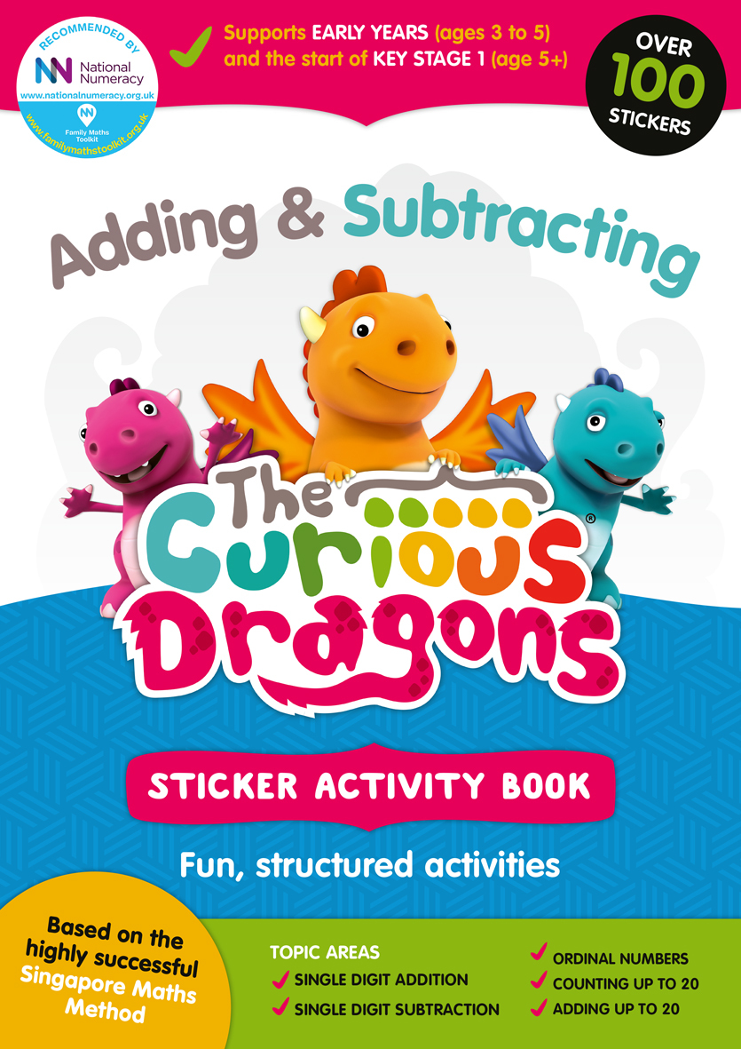 Curious Dragons Adding Book