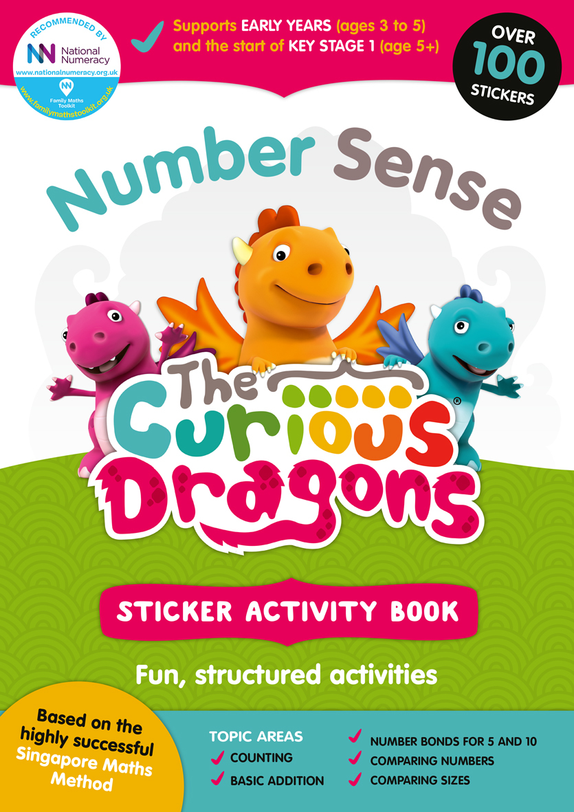 Curious Dragons Number Sense Book