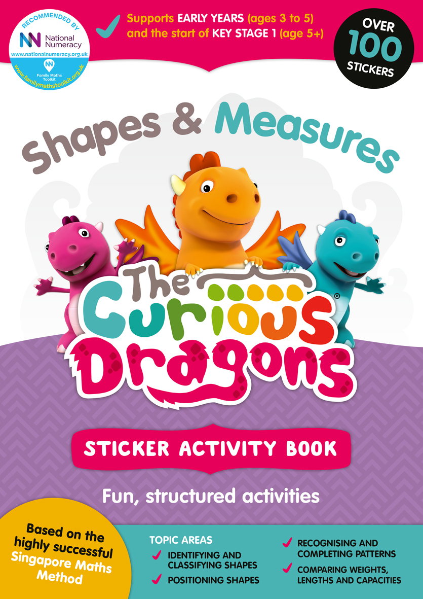 Curious Dragons Shapes Book