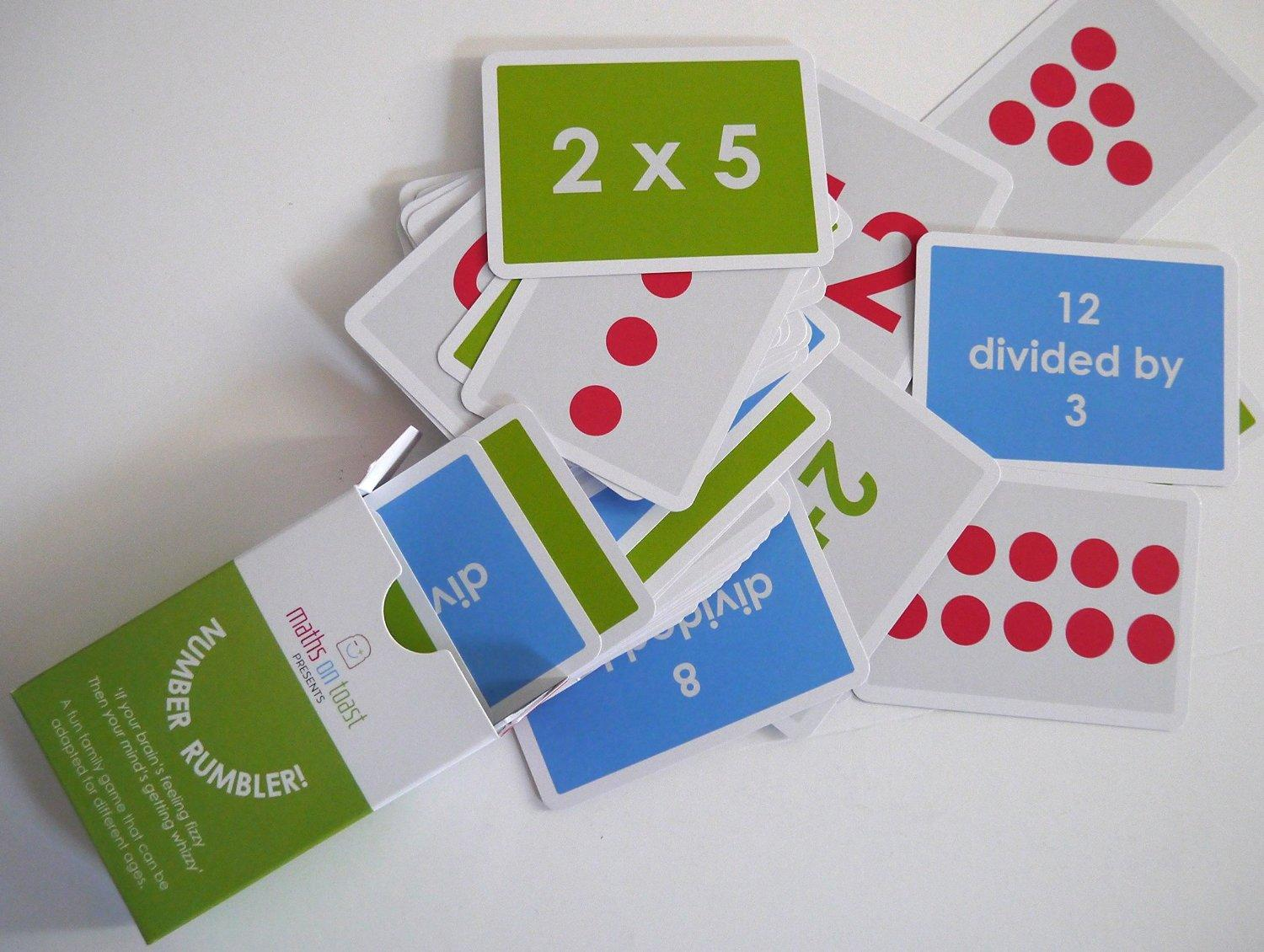 Number Rumbler card game