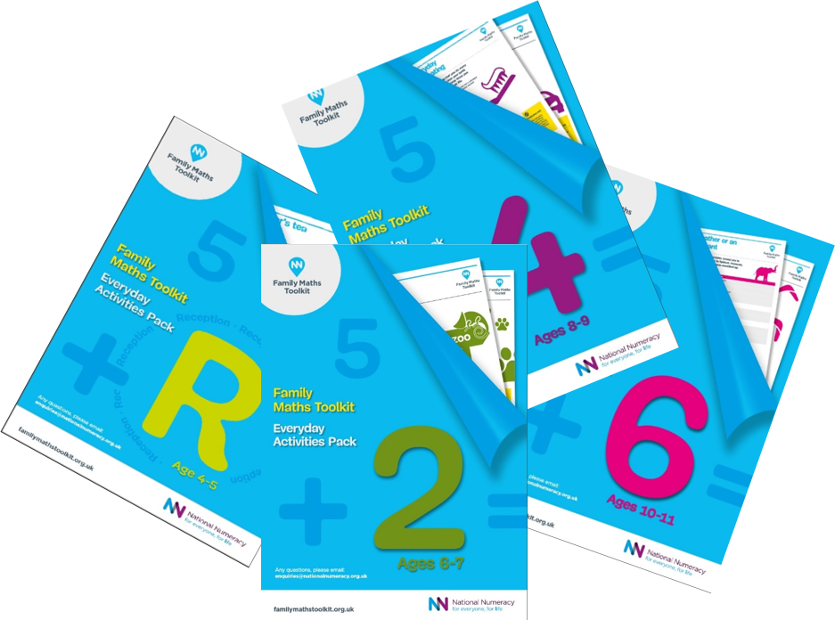 Maths at home for children under 5 | Family Maths Toolkit